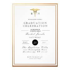 formal college graduation announcements nursing graduation invitations announcements zazzle