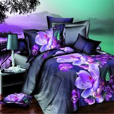 details about new 3d floral bedding sets full size duvet cover bed