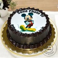 photo cake order 1 5 kg chocolate truffle photo cake today indiacakes