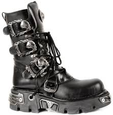 lace up motorcycle boots m 391 s1 new rock black leather lace up boots with skull flame buckles