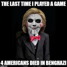 Republican Halloween Meme - saw viii the killary murders imgflip
