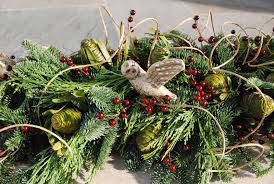 the dance of life on the yule tree and her greenery