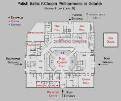 Concert Hall Floor Plan
