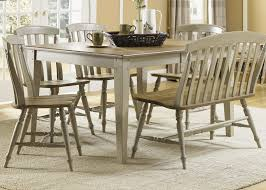 casual dining table set up