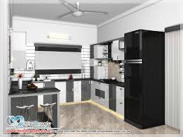 contemporary model kitchen kerala model home plans