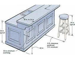 average size kitchen island building a breakfast bar dimensions breakfast bars are generally