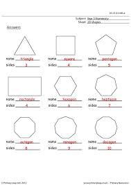 2d shapes worksheet worksheets