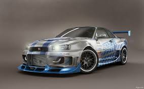 nissan r34 paul walker nissan skyline gtr r34 wallpapers group 89