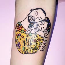 art tattoo x u klimt inspired kim michey magritte inspired criwes u2022