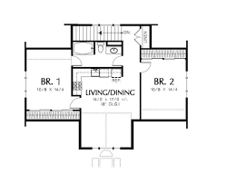 traditional style house plan 2 beds 1 00 baths 1963 sq ft plan