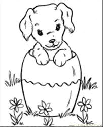 free printable christmas dog coloring pages