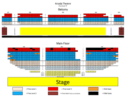 chicago theater floor plan arcada theater seating chart brokeasshome com