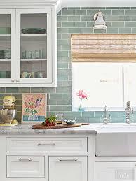 Backsplashes Wood Furniture Kitchen Backsplash Clean Subway Tile by An U002780s Kitchen Makeover That U0027s Anything But Cookie Cutter