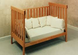 How To Convert Crib To Daybed Arts Crafts Crib Pacific Woodworking