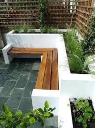 Diy Patio Planter Box Planters Planter Box Bench Plans Free Garden Stock Photo Diy