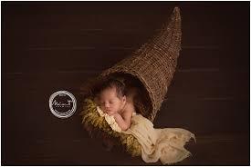 happy thanksgiving from mint studios monterey newborn photographer