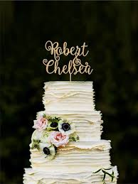 Wedding Cake Accessories Personalized Cake Toppers Weddbook