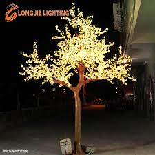 3456 outdoor artificial led cherry blossom tree light big blossom