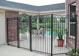 breezeway fences houston tx houston security iron