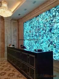 light blue semi precious stone light blue agate semiprecious stone wall covering ocean blue semi