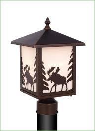 Bronze Landscape Lighting - lighting bronze solar post lights bronze solar lamp post light