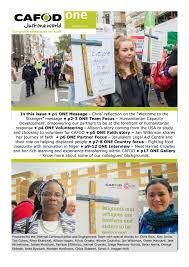 cafod one january 2017 by cafodconnect issuu