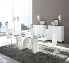table en verre cuisine table en verre de salle a manger table de cuisine moderne pas cher