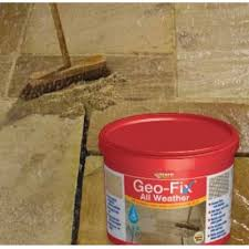 Patio Jointing Compound Everbuild Geo Fix All Weather Paving Jointing Compound Slate Grey