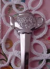 tea party favors 6 silver teapot demitasse spoons tea party favors