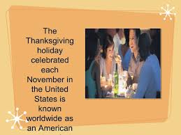 thanksgiving custom the story of thanksgiving ppt download