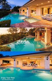 Luxury Swimming Pool Designs - blue science award winning dallas pool builder