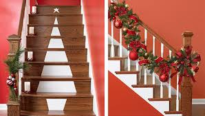 How To Decorate A Banister Top 40 Stunning Christmas Decorating Ideas For Staircase