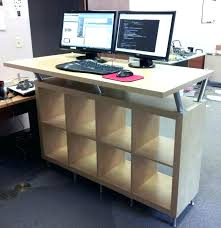 diy adjustable standing desk simple standing desk image of mid century simple standing desk diy