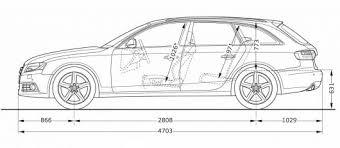 2010 audi a4 features car line cartype