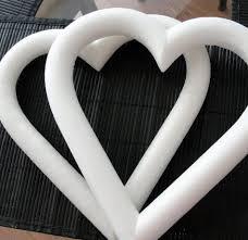 styrofoam wreath styrofoam heart wreath 9in
