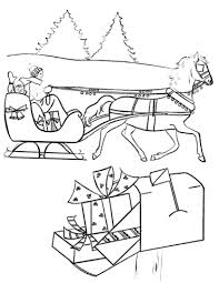 christmas scenes coloring pages resume collection