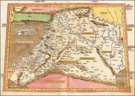 map asie quarta asie tabula holy land cyprus etc barry