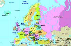 World Continent Map Map Of Europe Maps Worl Atlas Europe Map Online Maps Maps Of