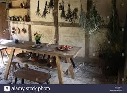 inside old country cottage kitchen stock photo royalty free image