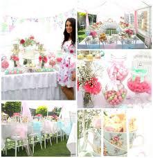 high tea kitchen tea ideas kara s ideas floral high tea bridal shower planning