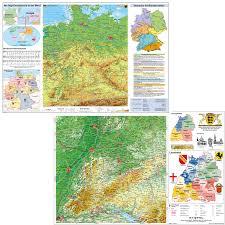 Baden Wuttemberg Schreibunterlage Baden Württemberg Physisch Deutschland Physisch