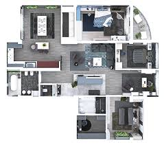 floor plan 3d design suite suite layouts garza blanca residence club arquitectura lovely