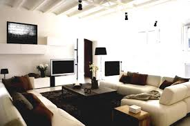 Modern White Home Decor by Mesmerizing Modern Apartment Living Room Ideas