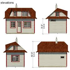 Free House Plans With Material List Family Tiny House Plans