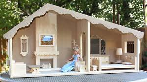Be Home Furniture Two Room Barbie House U0026 Furniture Woodworking Plans