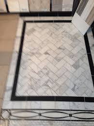 image result for white tile black border