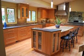 Wonderful Natural Cherry Kitchen Cabinets Shaker On Decorating Ideas - Natural kitchen cabinets