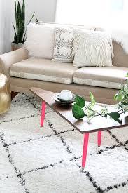 Boomerang Coffee Table Make It Diy Mid Century Boomerang Coffee Table Curbly