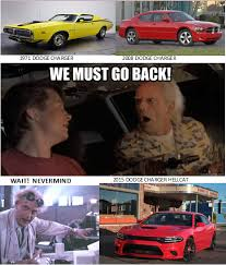 Dodge Memes - doc brown on the dodge charger