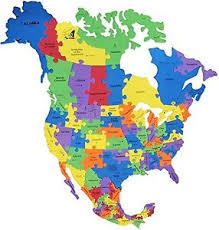 map of canada puzzle sized america map puzzle canada usa mexico 82